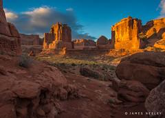 Up the Avenue (James Neeley) Tags: moab utah archesnationalpark landscape jamesneeley h