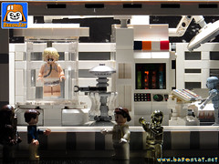 BACTA TANK CLOSE UP (baronsat) Tags: lego star wars esb hoth rebel base bacta tank chamber luke rejuvenation instructions kenner vintage 80s new toys