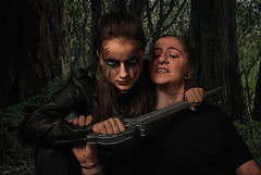 Cut Throat (briannamolino) Tags: large fern tree ground grass forest woods ecosystem shady forested sword killer warrior