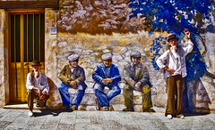 Cloning Crazy Hors (Marco Trovò) Tags: marcotrovò hdr italia italy strada street mural murale graffiti palau sardegna ritratto portrait
