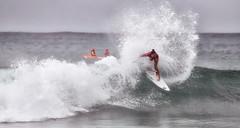 63+434: Crest of a winning wave (geemuses) Tags: girlsmakeyourmovewomen'spro 2017australianopenofsurfing manlybeach nsw surfing surfer sea ocean wave sport actionsport radicalsport sportsaction surfboard tricks manly australia autumn