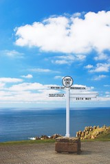 UK - Lands End (Toshinobu) Tags: uk blue sea sky landsend d80