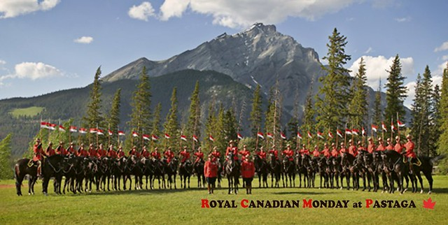 Royal Canadian Mondays at Pastaga (Photo courtesy of the Royal Canadian Mondays at Pastaga Facebook page)