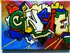 My first canvas graffiti (L Harmer Photography) Tags: colors graffiti ginger cool colorful colours tag creative colourful gingie toucanfilter
