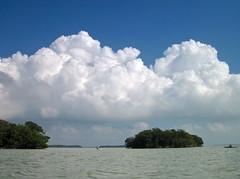 'Glades clouds (pat.pix) Tags: clouds florida flamingo kayaking cumulus evergladesnationalpark floridabay fcspt