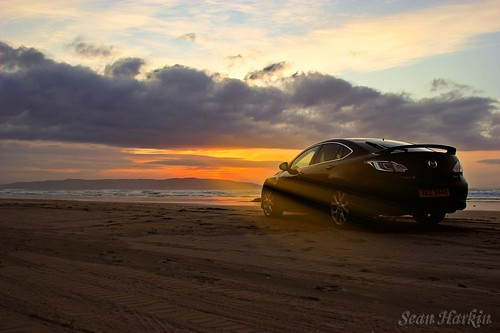 Downhill Mazda 6 sunset - Copy_sunrays_rc