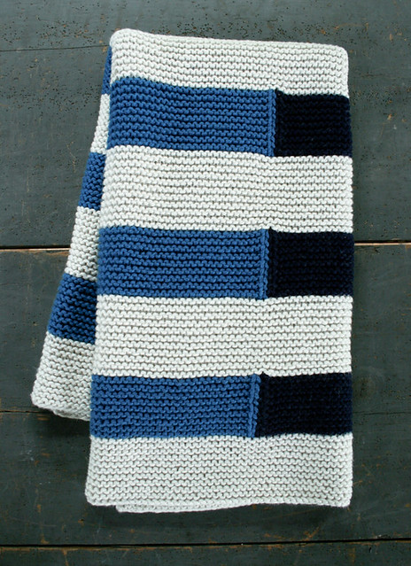 Ravelry Shadow Stripe Baby Blanket Pattern By Purl Soho