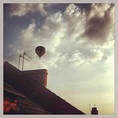 Balloon (Jason Rolls) Tags: northampton balloon semilong iphone4 instagram uploaded:by=flickrmobile flickriosapp:filter=nofilter