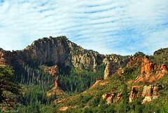 Sedona Beauty (spollock61) Tags: blue trees summer arizona sky usa mountains nature water beauty clouds sedona redrock thesouthwest