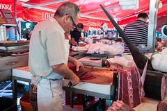 Pescivendolo (fabio barbera) Tags: fish market tuna mercato fishmonger catania pescivendolo
