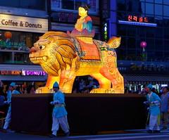P1060131 (travel oriented) Tags: korea  lotuslanternfestival