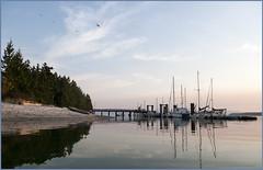 manson's dock (tesseract33) Tags: world ocean light sunset sea sky colour art water clouds boats nikon harbour wharf nikondigital mansonslanding cortezisland nikond300 tesseract33 peterlangphotography