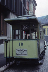 JHM-1977-1144 - Norvège, Bergen, ancien tramway (jhm0284) Tags: norvège norvege