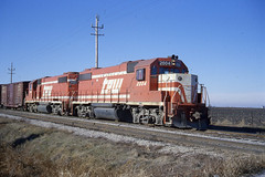 TP&W GP38-2 #2004 at Gilman IL on 12/27/78 (LE_Irvin) Tags: gp382 tpw gilmanil