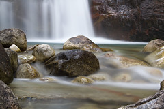 Naked and Exposed (Derek_Flynn) Tags: longexposure nature wet water rock naked landscape rocks natural bare falls clean clear adventures refreshing exposed cascading nakusp