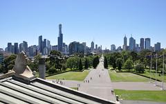 Melbourne skyline (marin.tomic) Tags: city travel urban skyline skyscraper nikon view skyscrapers oz australia melbourne blue