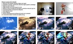 passo a passo megaman e zero em batalha (Diego Ventapane) Tags: actionfigure tutorial bandai megaman