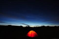 September (.:: Maya ::.) Tags: light sky mountain night tent bulgaria rila        mountainsnaps