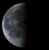 Moon 9/26/13 (zAmb0ni) Tags: sky moon night high mosaic space crater resolution astronomy lunation astrophtography