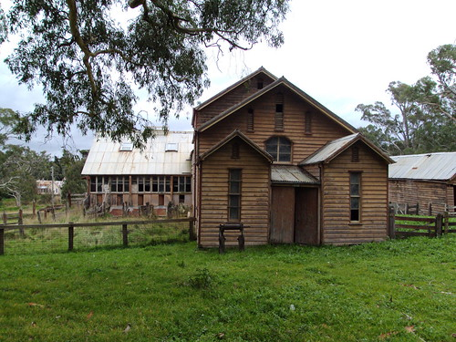 Shearing shed entrance at Warrock by denisbin, on Flickr