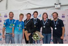 Iker y Tara, subcampeones en la Semana Olímpica Francesa