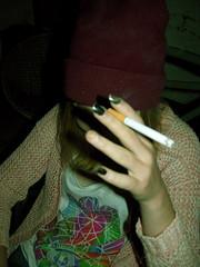 DSCN0960 (prvctice) Tags: girl cigarette smoke vibes