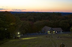 Sunset on the Ski Slope (B.MacLean) Tags: blue friends sunset sky color detail boston canon ma shot nightshot massachusetts hills foliage milton canoneos bluehills bluehillsreservation 28135mmis miltonma canonef28135mmf3556isusm greatbluehill cantonma canoneos50d canon50d friendsofthebluehills bostonstrong friendsofthebluehillssunsethike hikesunsetblue reservationbluehillsfriends