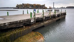 11/01/13 Low Water at Stone Lab (Ohio Sea Grant and Stone Laboratory) Tags: fall outdoors dock education scenery day greatlakes research osu outreach lowwater putinbay ohiostateuniversity perrysmonument avc 2013 lakeerieislands gibraltarisland stonelaboratory ohioseagrant aquaticvisitorscenter