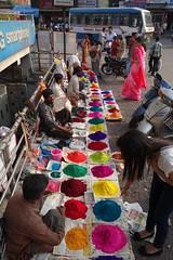 Diwali 2013 Day - 02 (Rajesh_India) Tags: colours diwali seller 2013 ameerpet muggulu