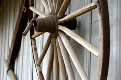 Carriage house decor (Cruise93) Tags: wood old brown white detail history texture public wheel metal contrast america vintage wagon beige exterior antique object carriagehouse gray minimal historic rusted mounted nostalgic weathered simple pioneer tool memorabilia sparse americanhistory americanmemorabilia rawwood historicobject wheelwagonrustedmountedcarriagehouseexteriorwoodtexturerawwoodcontrastoldweatheredantiquehistoricobjecthistoricobjecthistorypioneeramericanmemorabiliaamericatoolminimaldetailvintagesimplesparsememorabilianostalgicamericanh