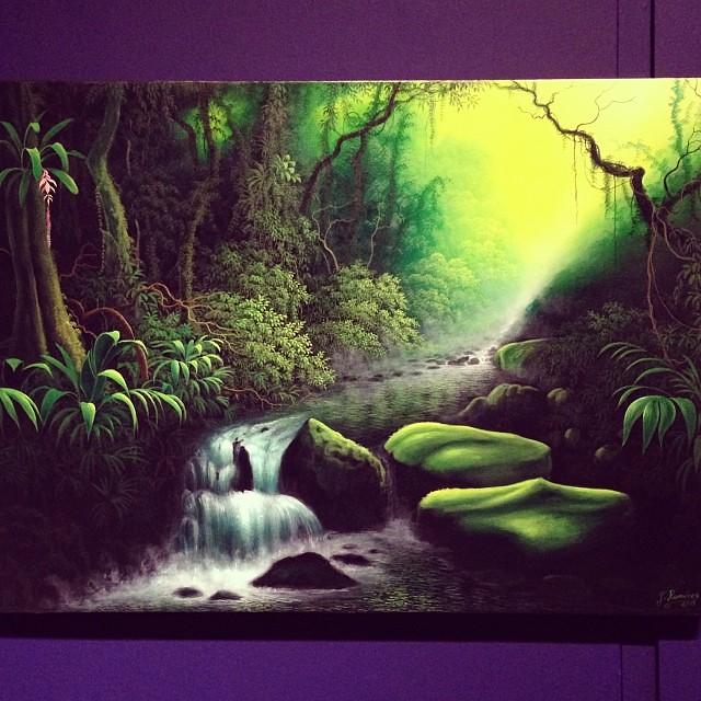 """Jorge Ramirez Flores """"Usko Ayar"""" • """"La escuela de las Visiones"""" #art #arteenlima #artinlima #arte #artist #artista #painting #pintura"""