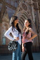 Frente a la parroquia (josefrancisco.salgado) Tags: church girl mxico mexico nikon iglesia jalisco nia nikkor mx d4 arandas 2470mmf28g parroquiasanjosobrero 2013113030178