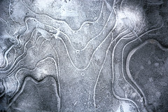 Ice Lines (wplynn) Tags: abstract ice frozen pond ripple indiana freeze ripples rippled froze