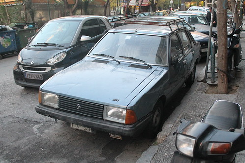 classic cars car square french sad well used greece charlie ugly straight 1980s saloon find dull talbot solara autoshite charlie2051