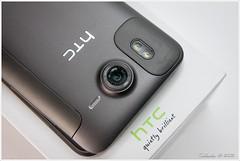 HTC Desire HD - Back Side