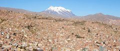 La Paz - South America (Chris Acheson Photography) Tags: travel mountains southamerica nature ancient scenery cities panoramic explore walkabout temples roads