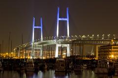 Yokohama Bay Bridge - 横浜ベイブリッジ (aokitetsuya) Tags: japan architecture yokohama kanagawa 横浜 神奈川 yokohamabaybridge 横浜ベイブリッジ