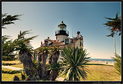 Point Pinos Lighthouse (Seeking Nature | Aus) Tags: ocean california ca sea usa lighthouse white seascape west water point boats coast nikon photographer unitedstates pacific ships emma nsw 1855 pinos navigation d90 thewhiteview