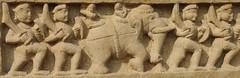 Khajuraho (nicnac1000) Tags: sculpture india elephant temple vishnu indian unescoworldheritagesite unesco worldheritagesite mp hindu khajuraho madhyapradesh chattarpur lakshmana bundelkhand 10thcentury northindian chhatarpur 10thcenturyce chandela 10thcenturyad yashovarman 950ad 10century india2013 vaikunthavishnu