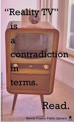 contradiction in terms (hcplebranch) Tags: reading marketing libraries books ebranch digitalservices harriscountypubliclibrary facebookgraphics harriscountypl