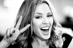 #Paris @kylieminogue in front of my camera #interview #50minside @tf1 @oliviafabresse #kissmeonce new album #thevoice (nikosaliagas) Tags: