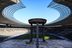 Olympic Stadium (gaetanocessati) Tags: urban berlin colors architecture canon germany photography stadium symmetry olympic olympiastadion