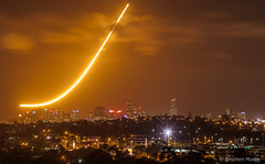 F-111 dump and burn over Brisbane (LR5 repro) (mudge.stephen) Tags: dump burn f111