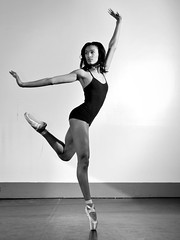 Lively Step (Narratography by APJ) Tags: blackandwhite bw beautiful beauty dance nj dancer pointe apj narratography