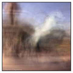 """""""driving in the round"""" 20140316-0879.jpg (Stephen D'Agostino) Tags: slowshutter scottsdale intheround photoimpressionism iphoneography"""