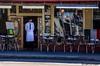 San Francisco - Pellegrinis' - 6685 (www.karltonhuberphotography.com) Tags: sanfrancisco california street urban man menu restaurant italian uniform exterior streetphotography tables handheld dining casual littleitaly waiter peoplewatching urbanlandscape 2014 streetside lunchanddinner nikkor55200mm nikond7000 karltonhuber