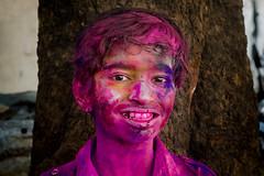 Holi 2014 (Sankaranarayan B) Tags: pink blue red portrait people india colors nikon action celebration chennai holi tamilnadu sbp cwc parryscorner sbphotography sowcarpet d7000 chennaiweekendclickers bsankaranarayan sankaranarayan