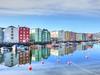 Trondheim Reflections (GillWilson) Tags: norway reflections trondheim hurtigruten