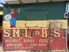 Simply D Best (Nick Sherman) Tags: restaurant jamaica vegetarian lettering falmouth rastafarian signpainting ital simplydbest