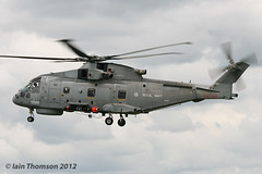 ZH856 - EH-101 Merlin HM.1 (iainthomson84) Tags: uk aircraft air royal international raf arrivals 2012 fairford riat airtattoo